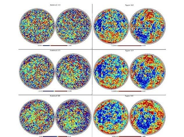 Busonuçlara ulaşmak içinkozmik mikrodalga arka plan modelleri kullananChary, daha sonra yıldız, gaz ve tozdan gelen sinyalleri kaldırdı. Bu işlemlerin ardından söz konusu parlak noktaların izine rastlandı.