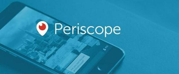 """Periscope Türkiye'deki ismini değiştirerek """"Scope"""" oldu."""
