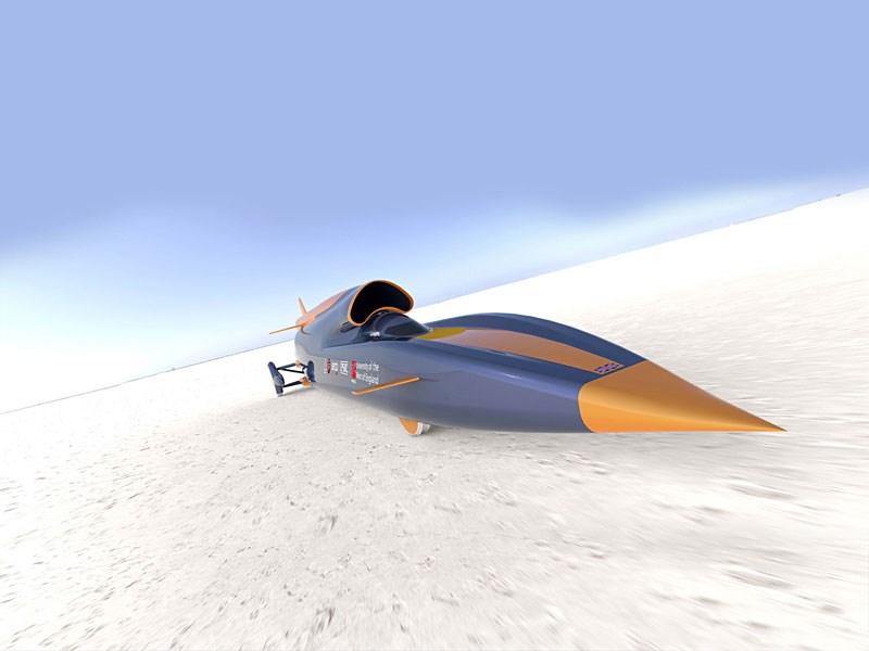Roket otomobil rekora hazırlanıyor