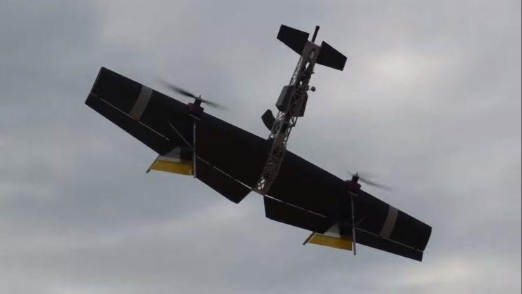 'DRONE KALAŞNİKOF'UN GÖRÜNTÜLERİ YAYINLANDI