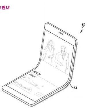 Samsung, katlanabilir telefon
