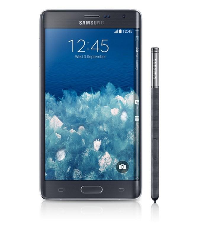Samsung'un kavisli 'akıllı'sı