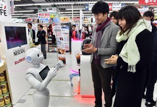 Satışları robotlar yapıyor