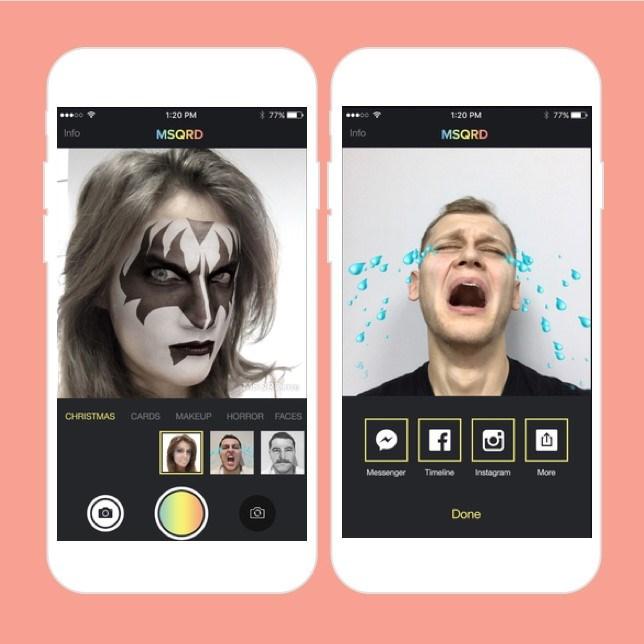 Sosyal medya devi popüler yüz değiştirme uygulaması MSQRD'yi satı aldı.