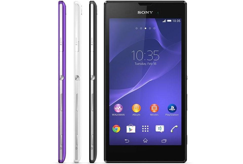 Sony'den orta sınıf Xperia