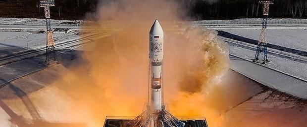 Soyuz MS-09 kapsülü uzaya fırlatıldı