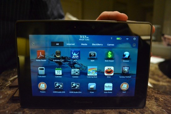 5. RIM Blackberry PlayBook