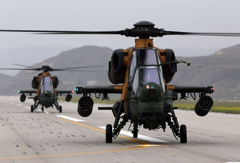 Türkiye'nin silahları, türkiye nin silah gücü, atak helikopteri