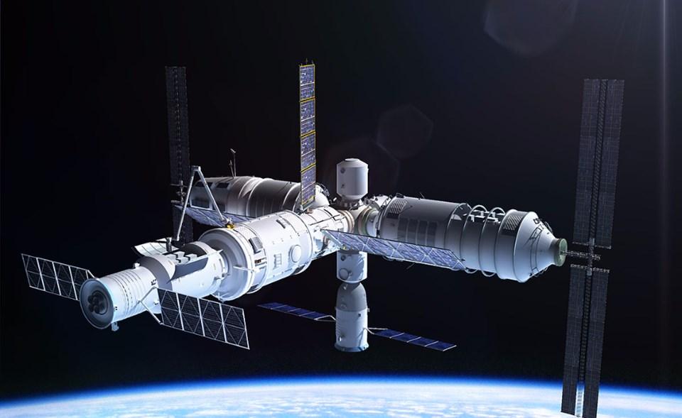 Dünyaya Zehirli Uzay İstasyonu Düşecek