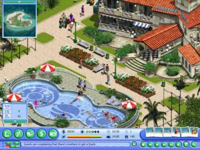 Virtual Resort: Spring Break