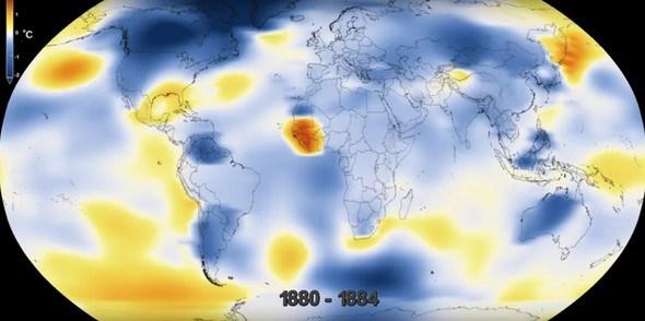 NASA'NIN GÖZÜNDEN DÜNYA'NIN 137 YILLIK DEĞİŞİMİ