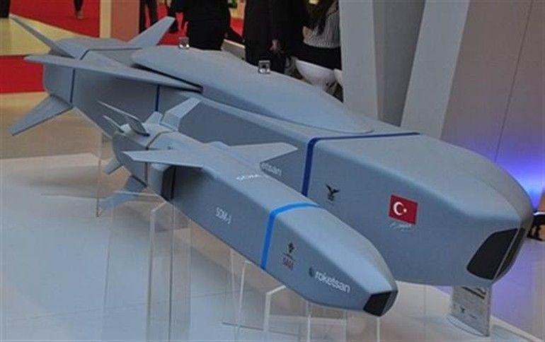 Türkiye'nin silahları, türkiye nin silah gücü, som füzesi