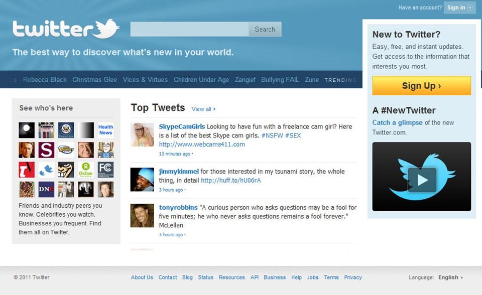 Twitter'la 5 yıl oldu