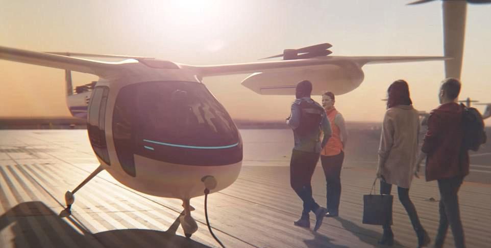Uçan taksilerin hizmete gireceği ilk 5 ülke açıklandı