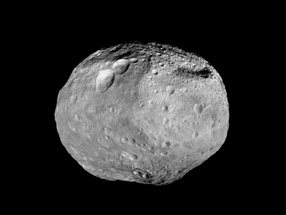 Vesta'da yeni bir gizem daha