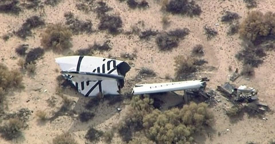 Geçen sene Mojave Çölü'ne çakılan mekiği kullanan yardımcı pilot Michael Alsbury hayatını kaybetmiş, pilot Peter Siebold ise kazadan yaralı olarak kurtulmuştu.