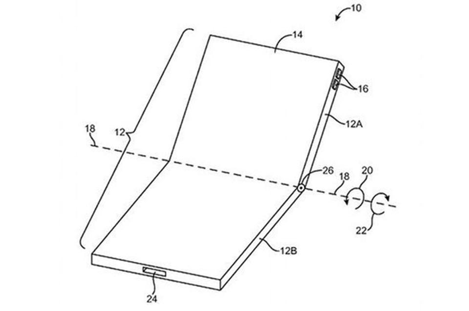 Apple'ın geçtğimiz dönemde basına sızan patent görseli