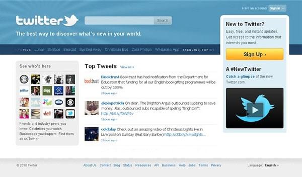 10. Twitter