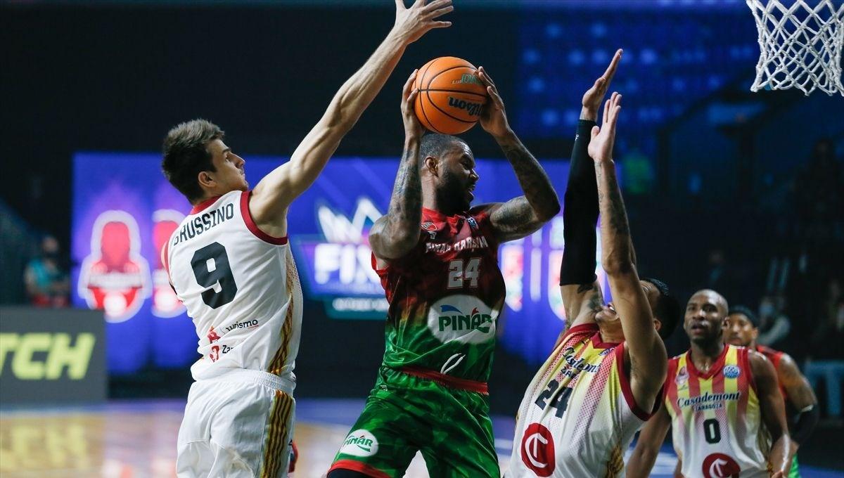 Pınar Karşıyaka finale yükseldi (FIBA Şampiyonlar Ligi)