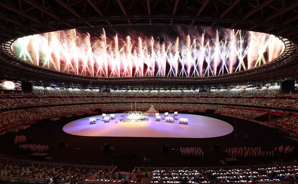 2020 Tokyo Olimpiyatları görkemli açılış töreniyle başladı - 73