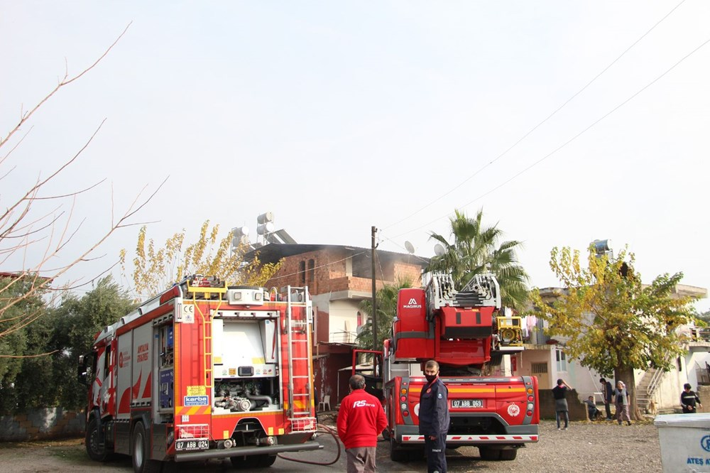 Antalya'da ağlatan yangın - 21
