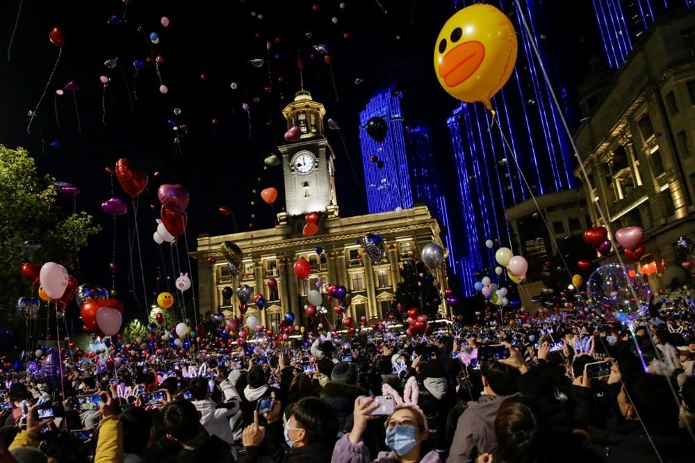 Wuhan'da yeni yıl kutlamaları - 2