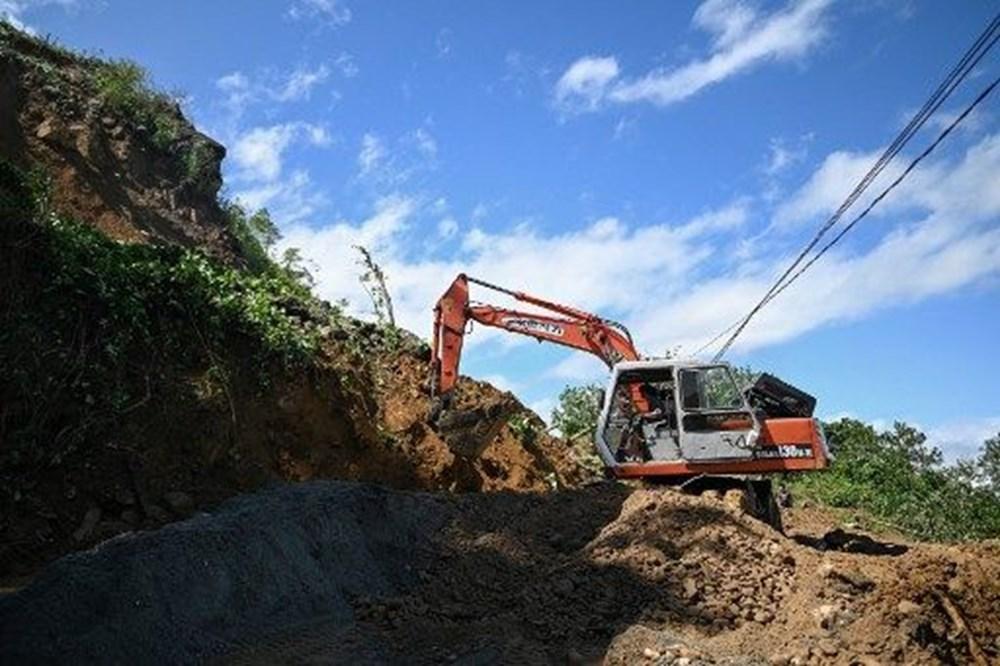 Vietnam'ı tayfundan sonra toprak kayması vurdu: 35'e yükseldi - 7