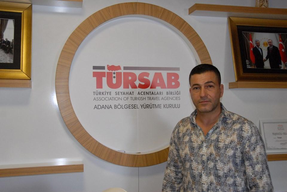 TÜRSAB Adana Bölge Temsil Kurulu Başkanı Murat Şirin