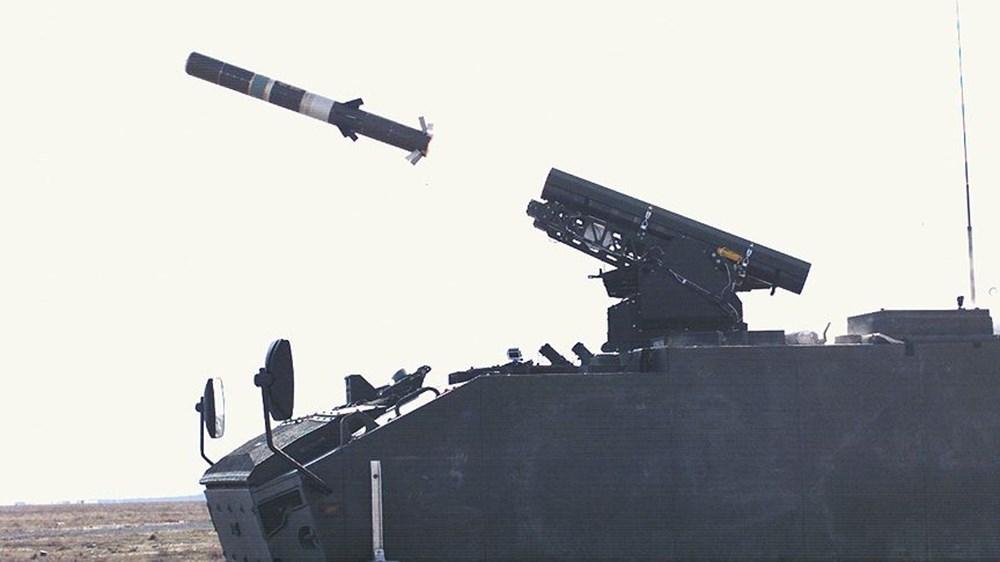 Dijital birliğin robot askeri Barkan göreve hazırlanıyor (Türkiye'nin yeni nesil yerli silahları) - 155