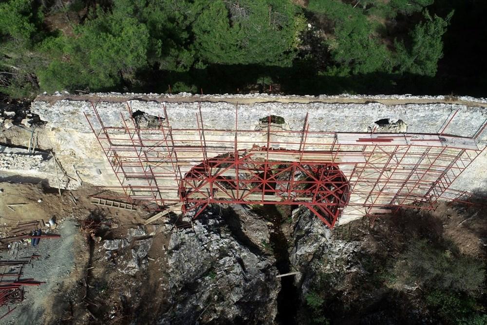 Troya'nın 3 bin 500 yıllık su kemeri restore ediliyor - 4