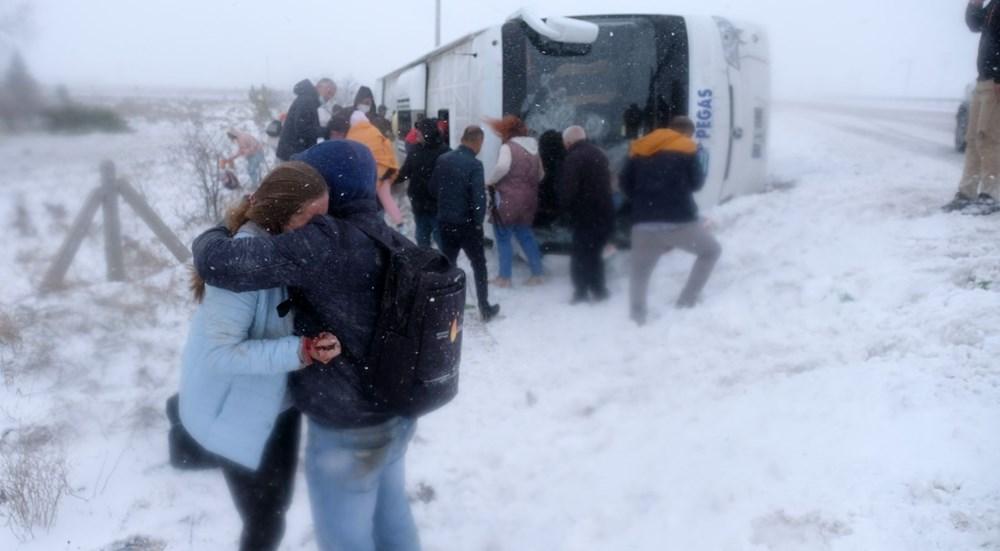 Konya'da 2 tur otobüsü devrildi: 1 Rus turist öldü, çok sayıda yaralı - 5