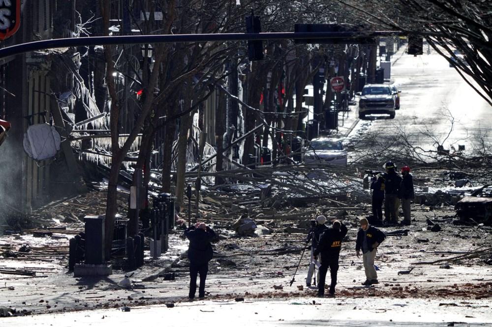 ABD'nin Nashville kentindeki patlamayla bağlantılı olarak bir kişi tespit edildi - 3