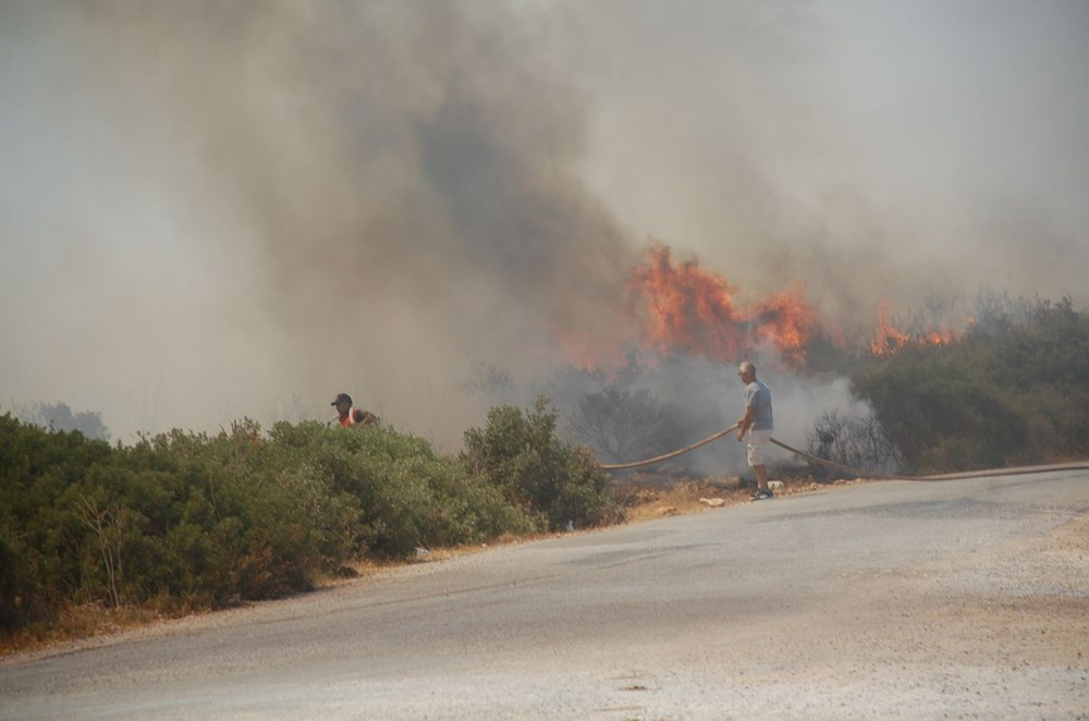 Antalya, Adana, Mersin, Aydın, Muğla, Osmaniye, Kayseri ve Manisa'da orman yangınları - 31