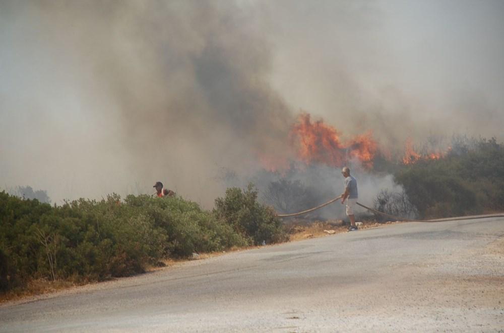 Antalya, Adana, Mersin,Muğla, Osmaniye ve Kayseri 'de orman yangınları - 39