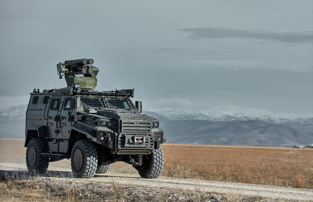 Silahlı drone Songar, askeri kara aracına entegre edildi (Türkiye'nin yeni nesil yerli silahları) - 183