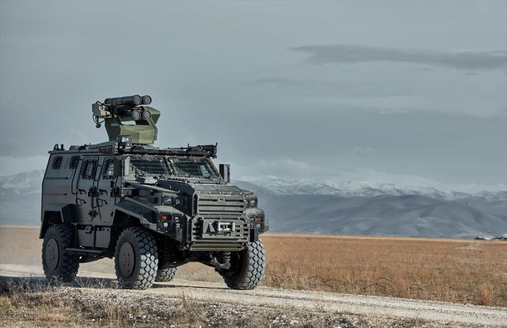 Dijital birliğin robot askeri Barkan göreve hazırlanıyor (Türkiye'nin yeni nesil yerli silahları) - 215