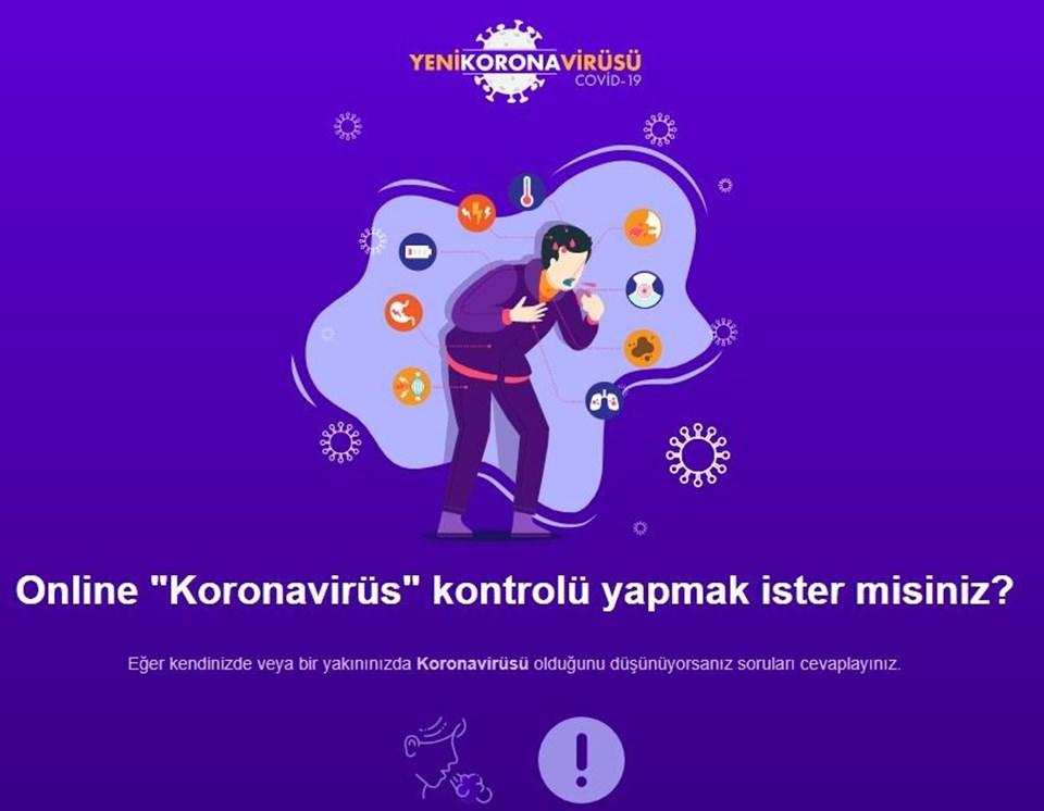 Sağlık Bakanlığı'ndan online corona virüs testi - Sağlık Haberleri | NTV