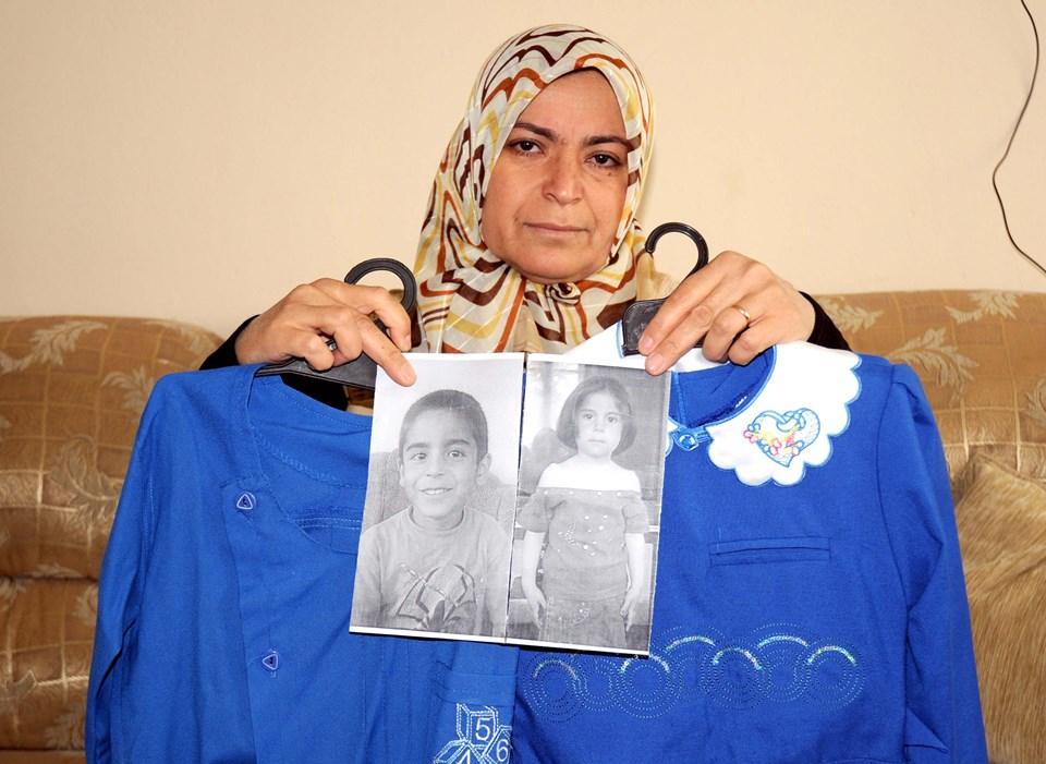 """Ahmet ve Dilruba Tekin'in annesi Leyla Tekin, """"Ahmet 2. sınıfa, Dilruba ise ilk defa okula gidecekti. Çantasını, önlüğünü her şeyini hazırlamıştım"""" dedi."""