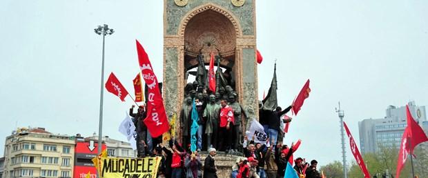 1 Mayıs Taksim'de