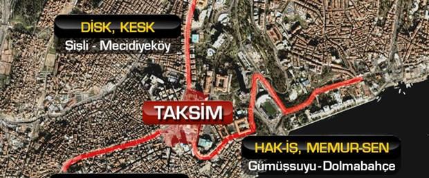 1 Mayıs'ta İstiklal Caddesi'ne giriş yasak