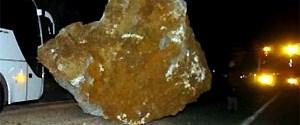 12 tonluk kaya koptu geldi