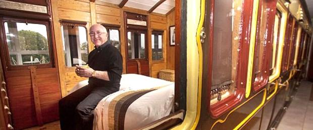 130 yıllık tren vagonu artık ev