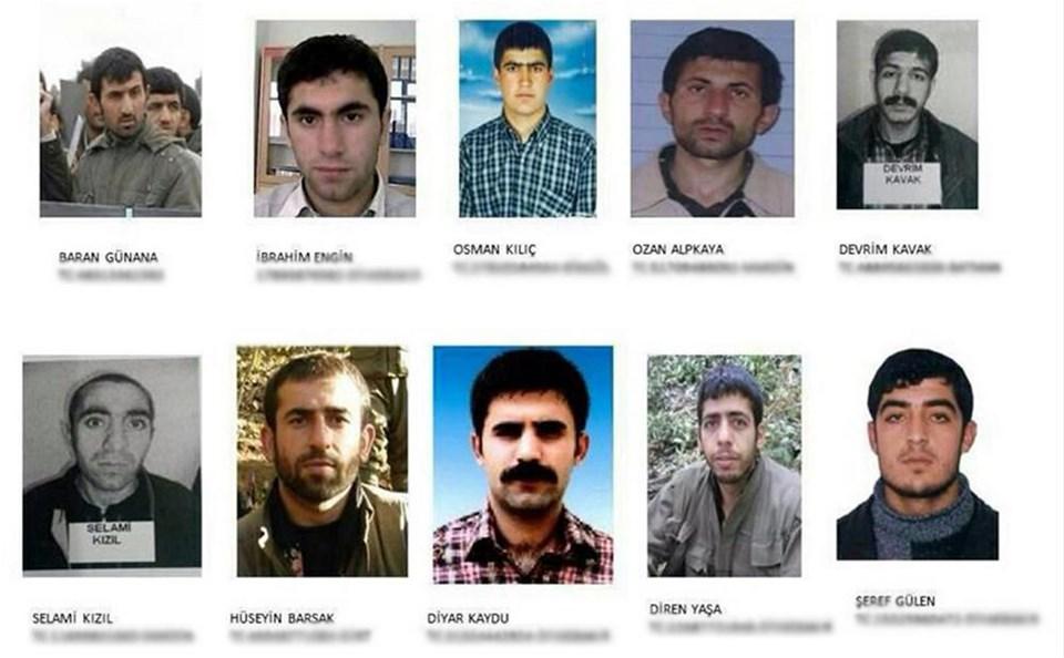 18 PKK'lı firar etti