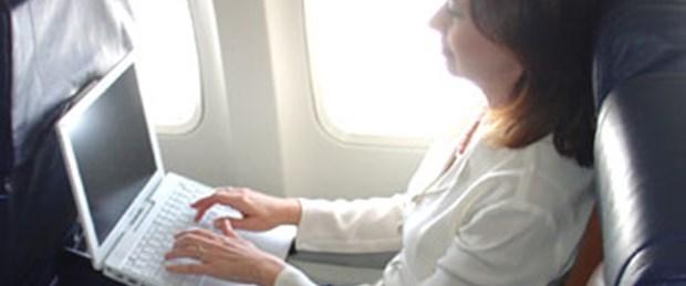 2 bin uçağa internet