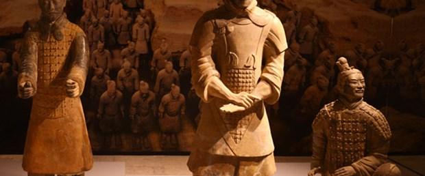 2 bin yıllık askerler Topkapı'da
