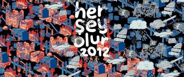 2012'yi çizerek anlattı: Her Şey Olur