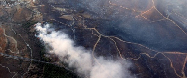 3 bin 800 hektarlık orman kül oldu
