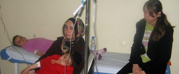 5 bin Erbaalı ishalden hastanelik