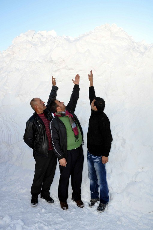 5 metrelik kar