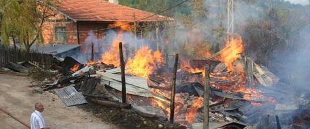 5 yaşındaki çocuk yanarak öldü